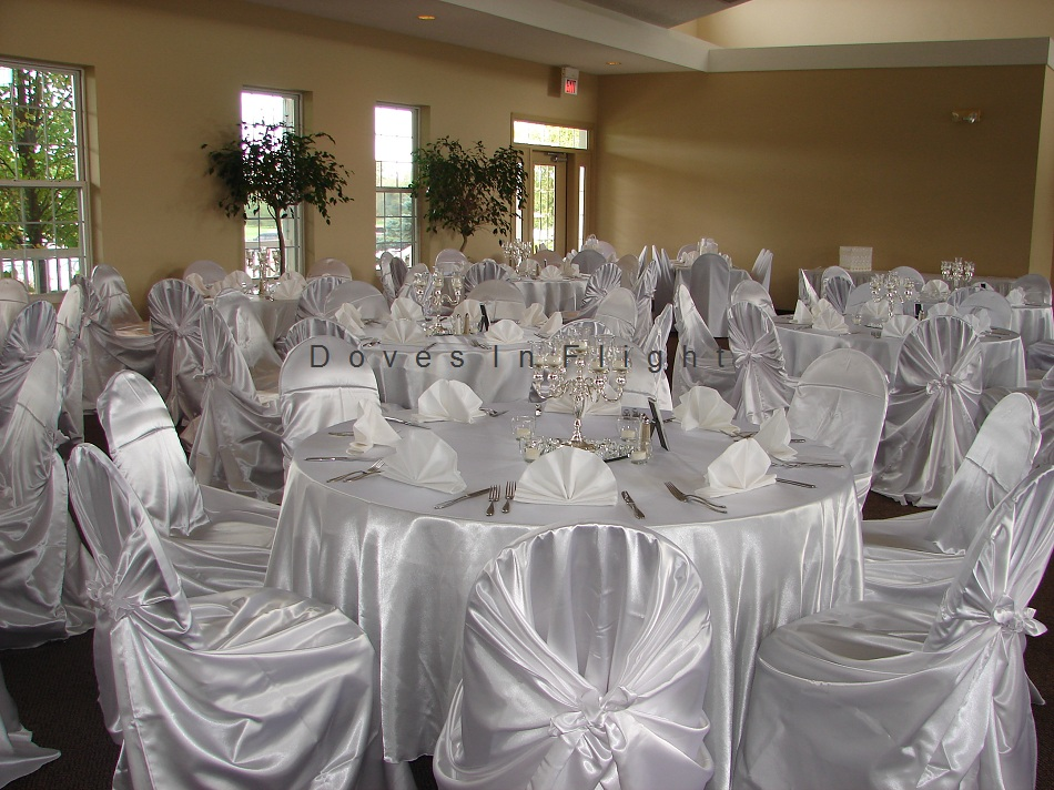 Chair Covers Of Lansing Doves In Flight Decorating
